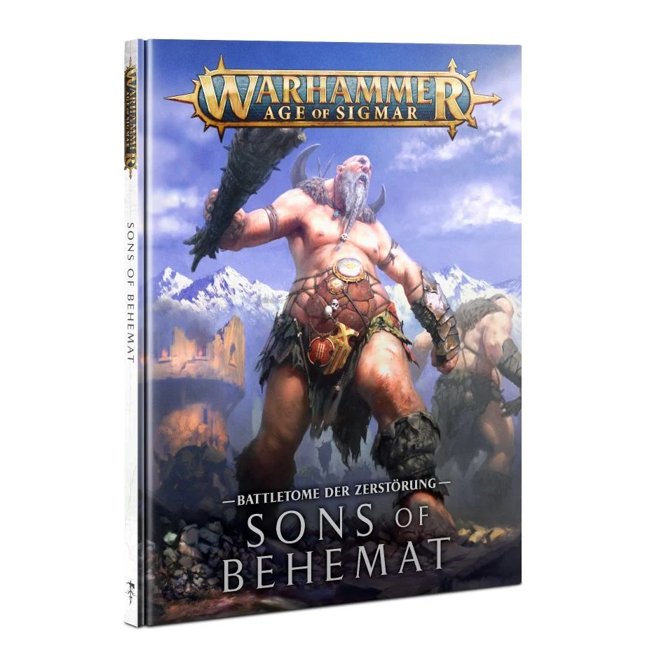 Warhammer Age of Sigmar SONS-OF-BEHEMAT