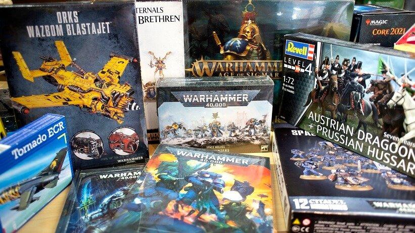 Modellbau Tabletop Spielekiste Potsdam Warhammer