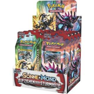 Pokemon Aufziehen der Sturmröte Themendeck
