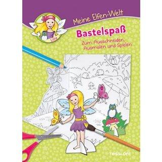 Meine Malbuch Elfenwelt Bastelspaß