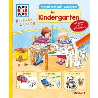WIW Kindergarten malen im Kind