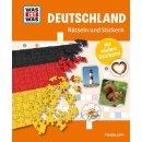 WIW Deutschland Rätseln & Sticker