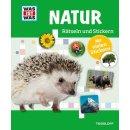 WIW Natur Rätseln & Stickern