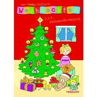 M.b.Malbuch Weihnachten 1.2.3.