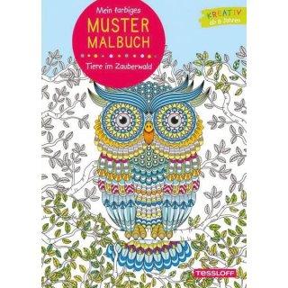Mustermalbuch Tiere/ Zauberwald