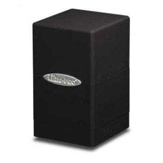 Black Satin Tower Deck Box