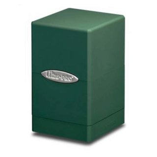 Green Satin Tower Deckbox