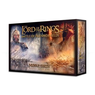 Herr der Ringe BATTLE OF PELENNOR FIELDS Deutsch