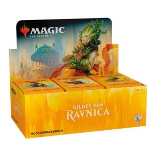 1 MAGIC THE GATHERING MTG Guilds of Ravnica Booster Englisch