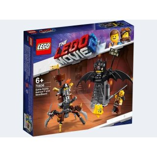LEGO 70836 Movie Battle Ready Batman and MetalBeard