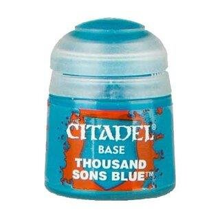 Modellbaufarbe Citadel BASE: THOUSAND SONS BLUE (12ML)