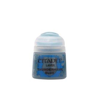 Modellbaufarbe Citadel LAYER: THUNDERHAWK BLUE (12ML)