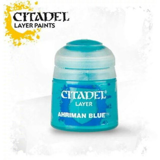 Modellbaufarbe Citadel LAYER: AHRIMAN BLUE (12ML)