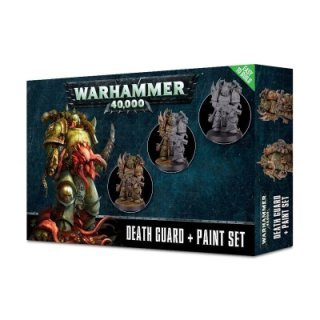 WARHAMMER 40 k Death GUARD PAINT Set