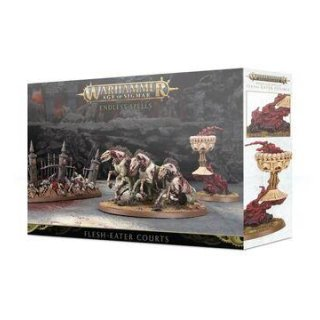 WARHAMMER Age of Sigmar ENDLESS SPELLS: FLESH-EATER COURTS