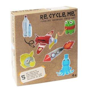 Re-cycle-me Basteln mit PET Flasche für Jungen