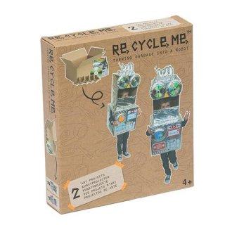 Re.cycle me Bastelspaß Make a Robot Themenbox