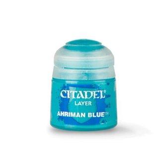 Modellbaufarbe Citadel Layer Ahriman Blue 12ml