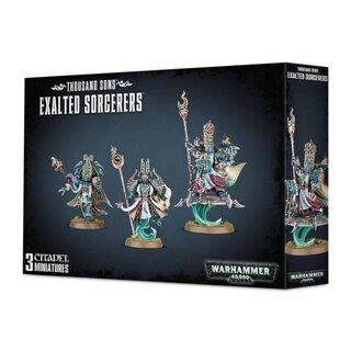 WARHAMMER 40k THOUSAND SONS EXALTED SORCERERS