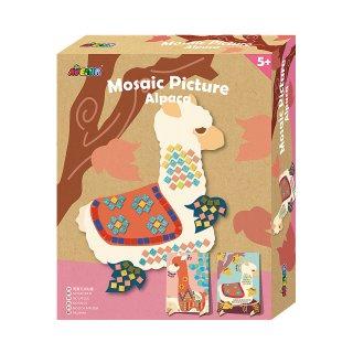 Bastelset Mosaic Bild Alpaca