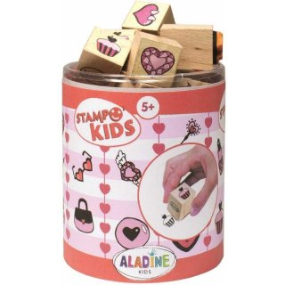 Stempelset Herzen Stampo Kids