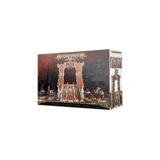 WARHAMMER Age of Sigmar BLADES OF KHORNE: SKULL ALTAR