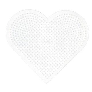 Hama Bügelperlen Stiftplatte Herz gross
