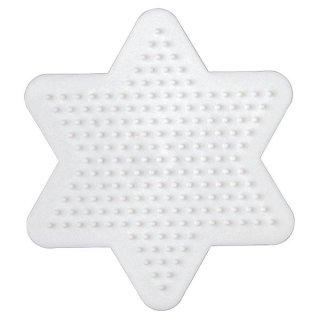 Hama Bügelperlen Stiftplatte Stern klein