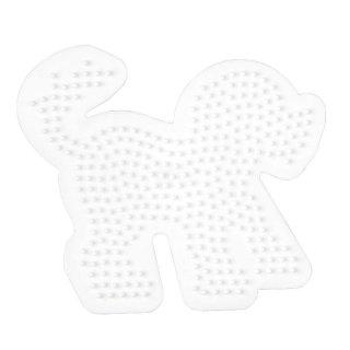 Hama Bügelperlen Stiftplatte Hund