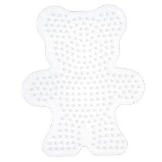 Hama Bügelperlen Stiftplatte Teddybär