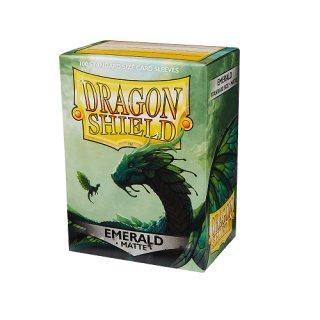 Dragon Shield Hüllen Standard Matte Emerald (100 Sleeves)