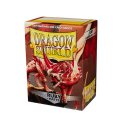 Dragon Shield Hüllen Standard Matte Ruby (100 Sleeves)