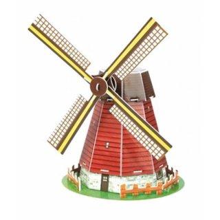 3D Puzzle Windmühle