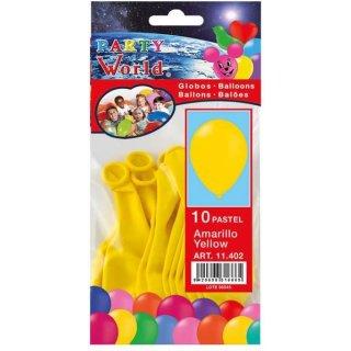 Luftballons gelb 10 Stück