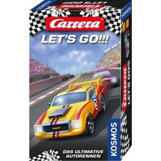 Carrera Lets go Rasantes Autorennen Brettspiel