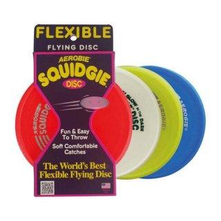 "AEROBIE ""SQUIDGIE"" Disk 20cm Durchmesser, Material"