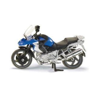 SIKU 1047 Motorrad BMW R1200 GS Auto