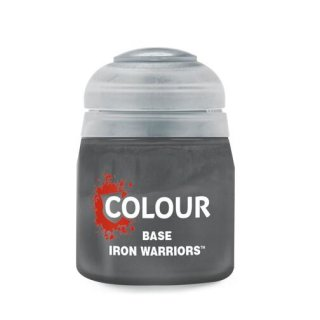 Modellbaufarbe BASE: IRON WARRIORS (12ML)