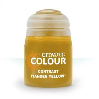 Modellbaufarbe CONTRAST: IYANDEN YELLOW (18ML)