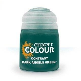 Modellbaufarbe CONTRAST: DARK ANGELS GREEN (18ML)