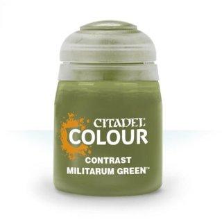 Modellbaufarbe CONTRAST: MILITARUM GREEN (18ML)