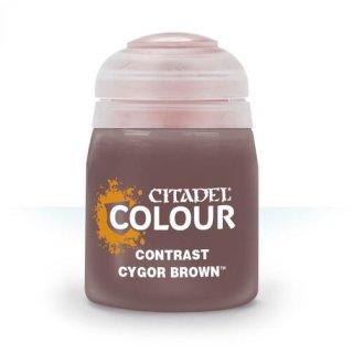 Modellbaufarbe CONTRAST: CYGOR BROWN (18ML)