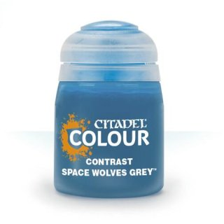 Modellbaufarbe CONTRAST: SPACE WOLVES GREY (18ML)