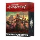 WARHAMMER Age of Sigmar WARCRY: SCHLACHTPLANKARTEN (Deutsch)