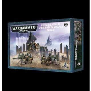 WARHAMMER 40 k Astra Militarum Cadian Heavy Weapon Squad