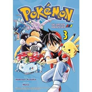 Pokemon Die ersten Abenteuer Band 3