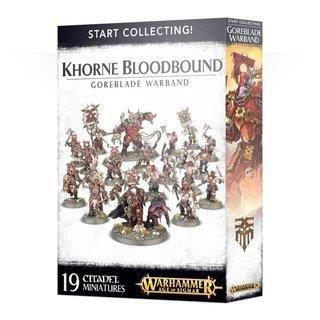 WARHAMMER Age of Sigmar Start Collecting KHORNE BLOODBOUND GOREBLADE WARBAND