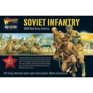 Bolt Action Soviet Infantry