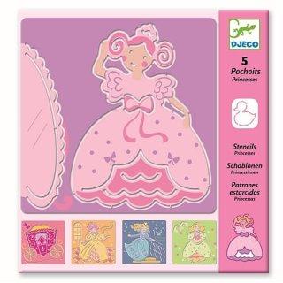 Schablonen: Prinzessin von DJECO