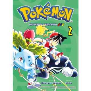 Pokemon die ersten Abenteuer Band 2 Buch